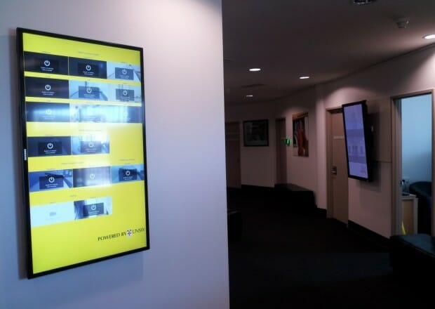 <b>Digital Signage integration with Cisco Video Conferencing</b>