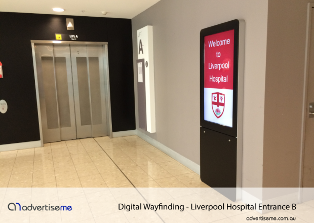Custom Digital Wayfinding For Hospitals